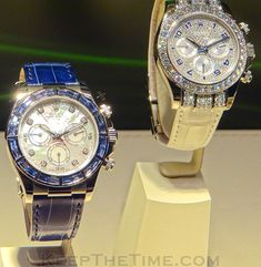 Rolex Daytona MOP and Diamond Watches at Baselworld 2012