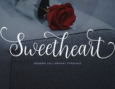 "Check out new work on my @Behance portfolio: ""Sweetheart Script"" http://be.net/gallery/51557265/Sweetheart-Script"