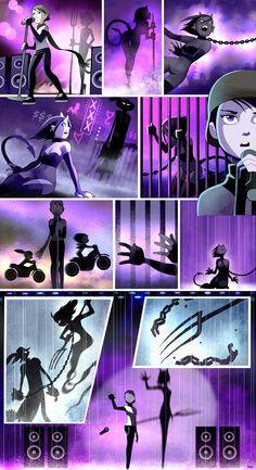 Sinfest by Tatsuya Ishida Comics Story, Bd Comics, Cute Comics, Funny Comics, Manga Anime, Anime Art, Rage Comic, 4 Panel Life, Ange Demon