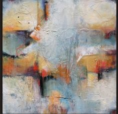 Abstract, contemporary art home page.  Karen Hale.