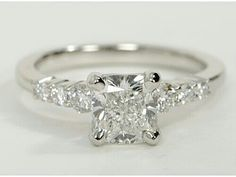 Other than the fact that I have a round cut center diamond this is my ring! Petite Diamond Engagement Ring in Platinum Engagement Rings Princess, Wedding Engagement, Diamond Engagement Rings, Wedding Bands, Diamond Gemstone, Diamond Rings, Halo Diamond, Dream Ring, Diamond Are A Girls Best Friend