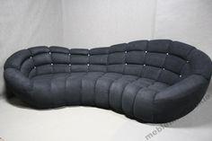 Duża Sofa Mega Kanapa Retro Nierozkładana Design (4701397345) - Allegro.pl - Więcej niż aukcje.