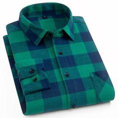 7ec8e6fedb5 Buffalo Plaid Flannel Shirt (8 Options)