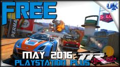 TABLE TOP RACING WORLD TOUR FREE MAY PlayStation Plus Game PS4 Gameplay