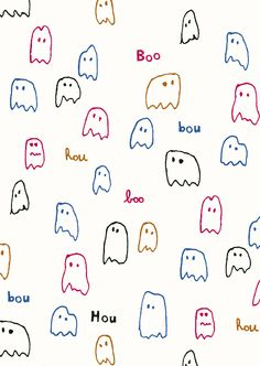 pattern by Minakani for Otto d'Ame #minakani #ottodame #ghost #boo