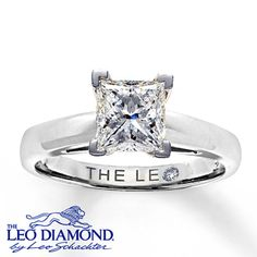 Leo diamond. Tried this on last night. Told my baby that's what i want. Hope he gets it for me!! <3