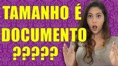TAMANHO DE PAU É DOCUMENTO? - Dora Figueiredo - YouTube
