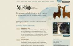 Typography - Slab Serif - MuseoSlab - website - http://stillpointesanctuary.org/