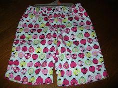 EEUC Gymboree Girls Pretty Little Lady Bug Bermuda Shorts Retro SZ 6 Flowers $6.99