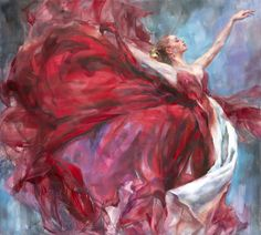 Anna Art Publishing is proud to present 'Above The Stars 2' an original painting by Anna Razumovskaya. For more info visit www.anna-art.com