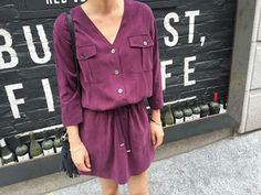 Button Down Drawstring Dress are the good option because they neat and add custom fit effect to your attire.