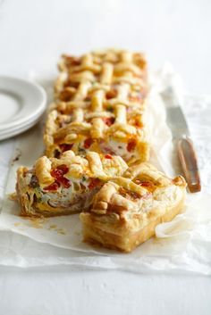 It's great to know how to quickly whip up a pie or tart to create an impressive result. A good pastry case can be loaded with any variety of fillings. I've gone for classic bacon and egg with a twist, as this is always popular with my family. Serves 6 400g butter puff pastry 200g …