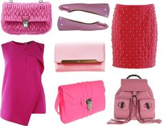 BRIGHTS - PINK by cmaepioquinto on Polyvore featuring Moschino