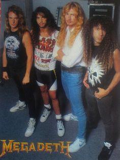 David Ellefson/Nick Menza/Dave Mustaine/Marty Friedman