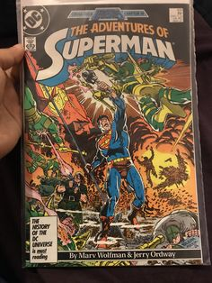 The Adventures Of Superman Comic -Issue 426
