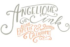 angelique ink home - lovely calligraphy blog