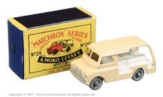 Matchbox Regular Wheels No.29A Bedford CA Milk Delivery Van - | Vectis Toy Auctions