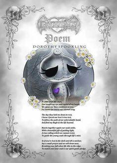 Frightlings: Dorothy Spookling Poem.