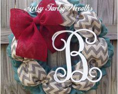 Daisy Wreath Flower Wreath Summer Wreath Deco mesh Wreath
