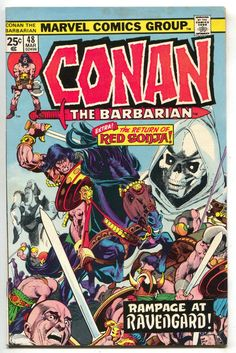 Conan The Barbarian 48 Marvel 1975 FN VF Red Sonja Gil Kane Roy Thomas