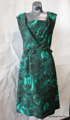 Vintage 60s Brocade Cocktail Dress Neiman Marcus, Cocktails, Formal Dresses, Colors, Vintage, Ideas, Fashion, Craft Cocktails, Dresses For Formal