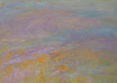 Heinrich Ilmari Rautio: Fields of Sangerhausen, Germany, 50x70 cm, oil on canvas, September 2016
