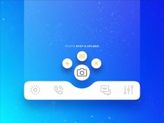 Navigation Bar Animation designed by Ali Celebi. Connect with them on Dribbble; Mobile App Ui, Mobile App Design, App App, Web Design, Ui Animation, Navigation Bar, App Design Inspiration, Application Design, Ui Elements