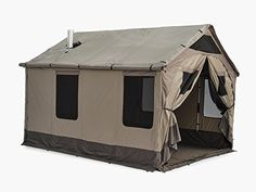 Amazon.com : Barebones Outfitter Tent | Large, Waterproof Canopy Tent for Camping, Lodging, and Group Gatherings : Sports & Outdoors