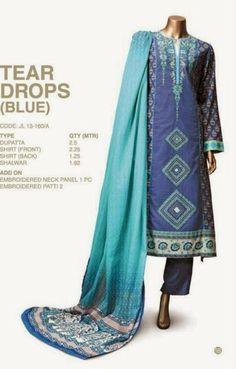 Junaid Jamshed Wear Collection 2014 for Smartest Girls