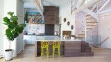 A Contemporary Kitchen That Stays True to Its History