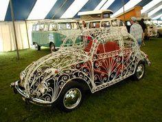 1968 Wrought Iron Volkswagen Beetle