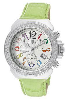 Lancaster Watch with Diamond Bezel