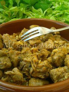 Esta receta que saqué de los cuadernos de la abuela es una forma tradicional de cocinar la carne en Málaga. Yo suelo utilizar magro de ...