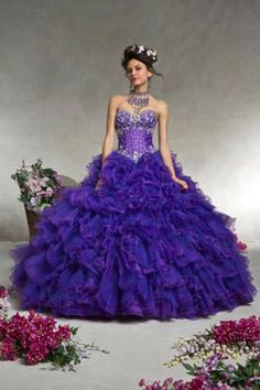 2df2d085f80 Sexy Light Green ( ^ ^)っ Purple Quinceanera Dresses 2016 Ruched Corset  Sweet ② 16 Ball Gowns Sequined Organza Cheap Fast Sexy Light Green Purple  ...