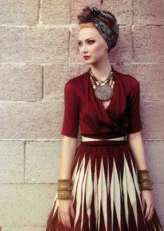 I ❤ #fashion :  Lena Hoschek SS15'.