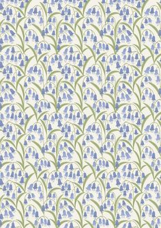 NEW /& HTF Designer Luxury BLUE /& YELLOW BIOLOGY LEAVES *100/% Cotton FQ*