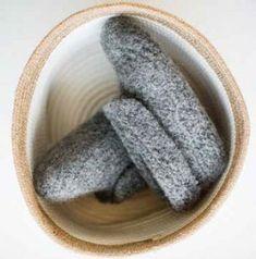 Strikk og tov - varme tøfler du vil elske - av Tusen Ideer Slippers, Knitting, Shoes, Crochet, Zapatos, Tricot, Shoes Outlet, Breien, Crochet Crop Top