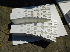 Plastic Letters for Outdoor Signs – Outdoor Design Outdoor Signs, Outdoor Ideas, Foam Cutter, Plastic Letters, Sign Image, Outdoor Chair Cushions, Concrete Molds, Logo Sign, Promotional Events