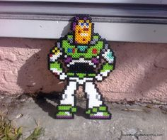 Buzz Lightyear Toy Story perler beads