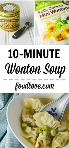 Make this light, satisfying 10-minute wonton soup in less time than it takes to get through the line at the drive-through. We love this easy #costcohack