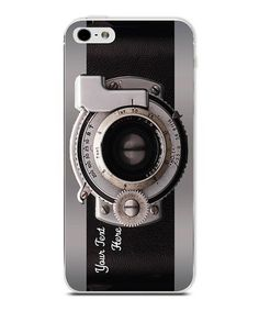 Take a look at this Camera Personalized Case for iPhone 4/4S by Secretly Savvy on #zulily today!