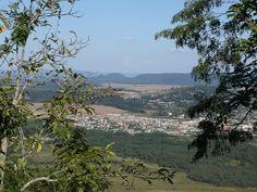 Vista do Morro do Cristo.  União da Vitoria/PR