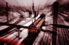 Winter train great shot