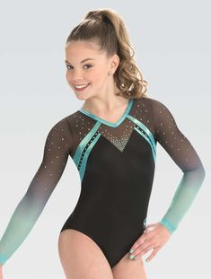 Sport Magnificent Wonder Sublimated Leotard – GK Elite Sportswear Houses become Homes Article Body: Gymnastics Competition Leotards, Gymnastics Suits, Gym Leotards, Girls Gymnastics Leotards, Blue Leotard, Pullover Shirt, Long Sleeve Leotard, Dance Outfits, Dance Wear