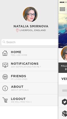 Optical profile flip 1 Flipping, Ios, First Love, Profile, Design Inspiration, Feelings, User Profile, Layout Inspiration, Puppy Love