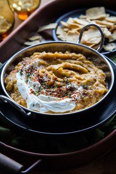 Acorn Squash & Caramelized Onion Dip By OhMyVeggies.com