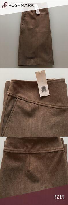 0e51b3a14 Banana Republic Sloan Pencil Skirt Tan Banana Republic Tan Pencil Skirt.  Fully lined, rear