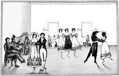 Great website for reference: http://regencydances.org/history.php
