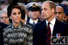 The Duke and Duchess of Cambridge attend vigil for the Battle of the Somme:
