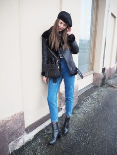 Winter outfit Outfit ideas Beret Chic